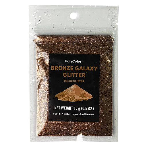 View a Larger Image of 15 gram Bronze PolyColor Resin Glitter