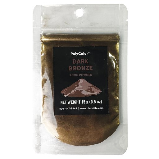 View a Larger Image of 15 gram Dark Bronze PolyColor Resin Powder