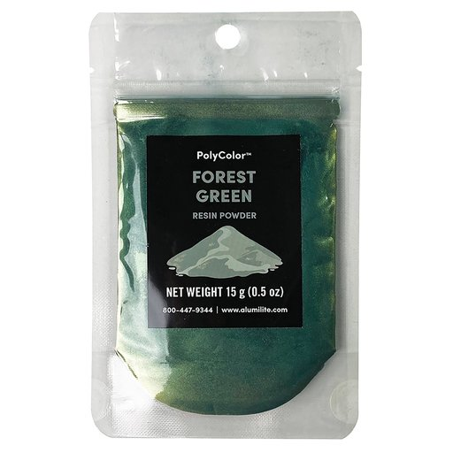 View a Larger Image of PolyColor Resin Powder Forest Green 15-Gram