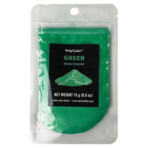 View a Larger Image of PolyColor Resin Powder Green 15-Gram
