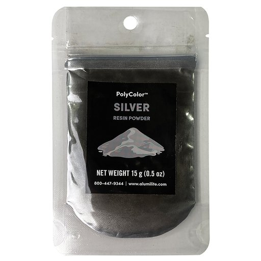 View a Larger Image of PolyColor Resin Powder 15-Gram Silver