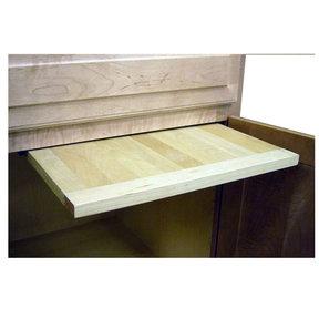 16 X 22 inch EZ Slide N Store Wood Cutting Board