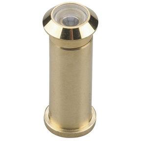 """160 Degree Door Viewer UL Listed Brass 1/2"""" (12.7 mm)"""