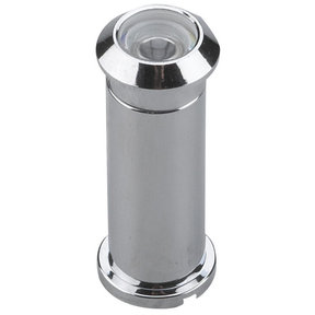 """160 Degree Door Viewer UL Listed Chrome 1/2"""" (12.7 mm)"""