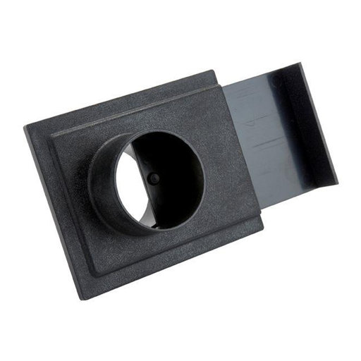 """View a Larger Image of 2-1/2"""" ABS Blast Gate"""