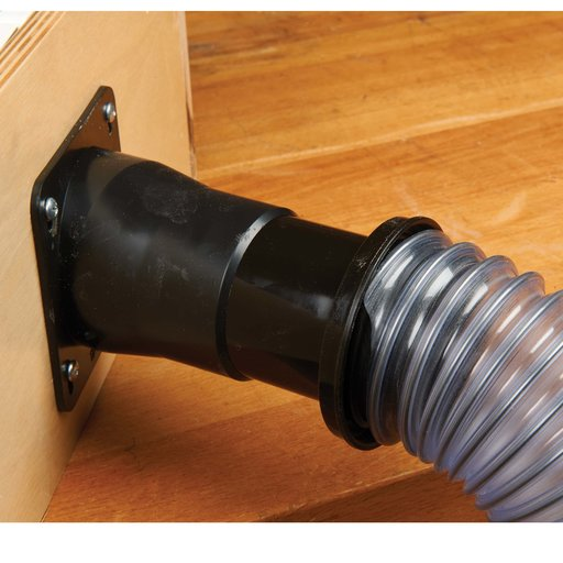 """View a Larger Image of 2-1/2"""" Hose End Dust Collection Fitting"""