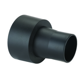 """2-1/2"""" O.D. Hose to 4"""" O.D. Quick-Connect Dust Collection Fitting"""