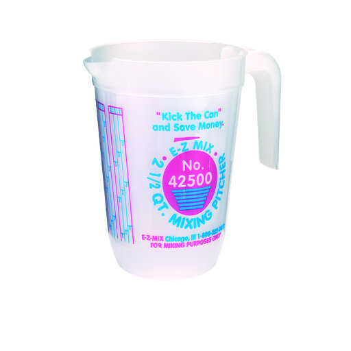 View a Larger Image of Mixing Pitcher Graduated 2-1/2 Quart