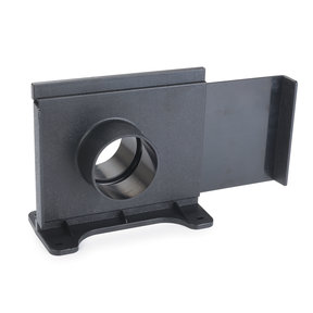 """2-1/2"""" Wall Mount Self-Clean Blast Gate Dust Collection Fitting"""