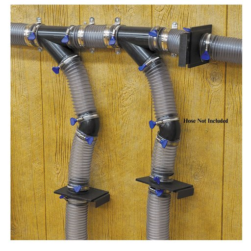 """View a Larger Image of 2-1/2"""" X3 Multi-Machine Dust Collection Fitting Kit"""