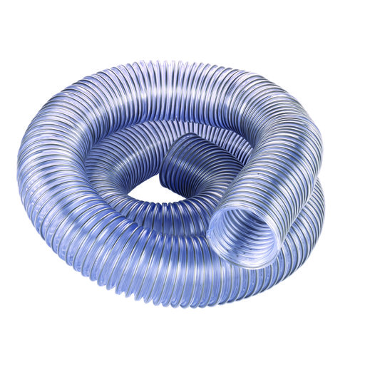 """View a Larger Image of 2.5"""" Diameter Clear Dust Collection Hose"""