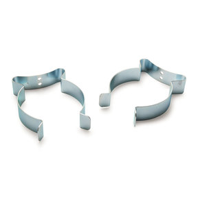 """2-Pack 4"""" Wall Spring Clip For Hose And Tube"""