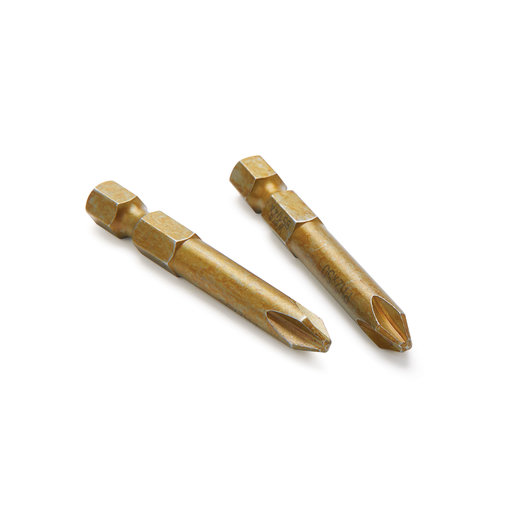 """View a Larger Image of #2 Phillips 2"""" Driver Bits - 2pc"""