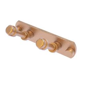 2 Position Multi Hook, Brushed Bronze Finish