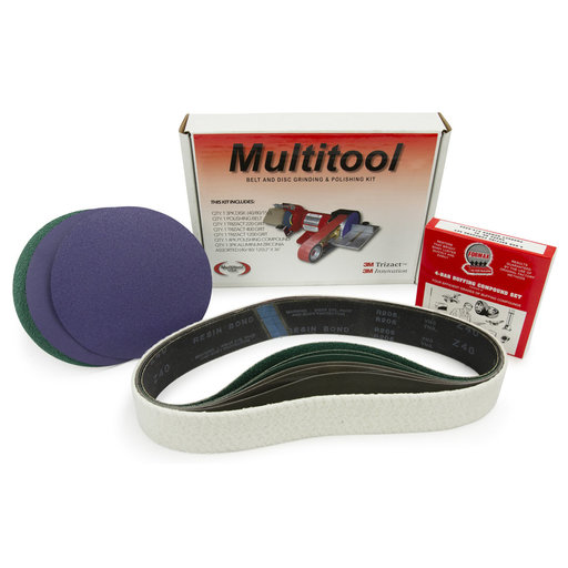 """View a Larger Image of 2"""" x 36"""" Belt, 7"""" Disc, Metal Working Belt and Disc Starter Kit"""
