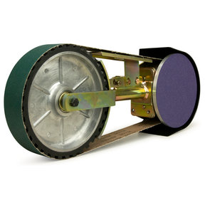 """2"""" x 48"""" Belt, 7"""" Disc,  8"""" Contact Wheel Attachment"""