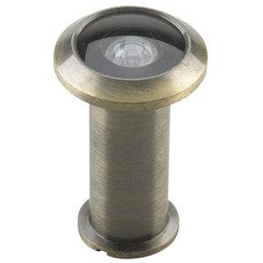 "200 Degree Door Viewer Antique Brass 9/16"" (14.3 mm)"