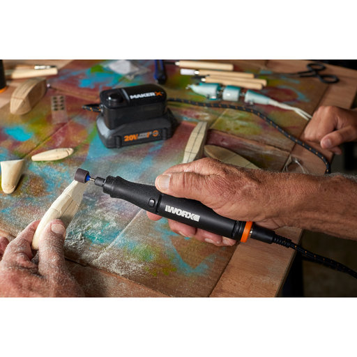 View a Larger Image of 20v Li-ion MakerX Rotary Tool Kit