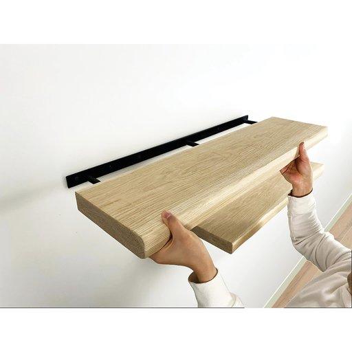 "View a Larger Image of Floating Shelf Bracket 22"" L"