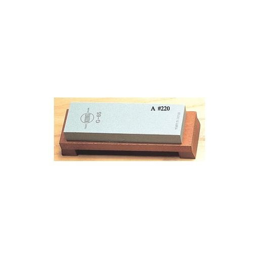 View a Larger Image of #220 Grit Green Carbide Water Stone - King