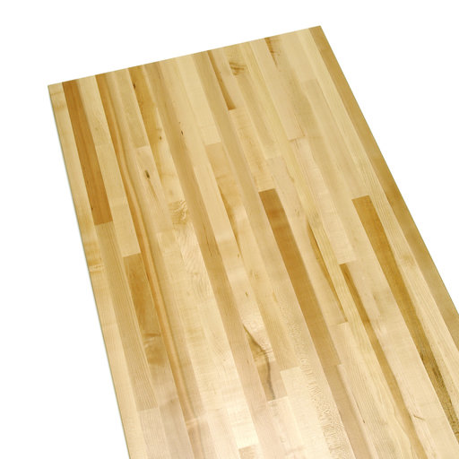 """View a Larger Image of 24"""" x 60"""" Laminated Maple Bench Top, 70 Lbs."""