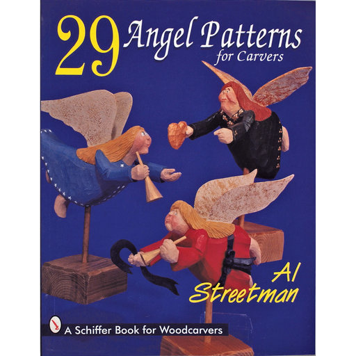 View a Larger Image of 29 Angel Patterns for Carvers