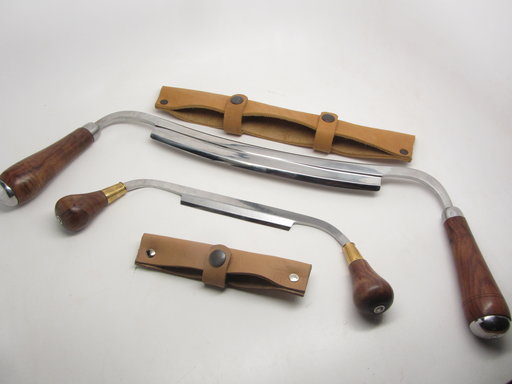 View a Larger Image of 2pc Carvers Drawknives 4.5 & 10