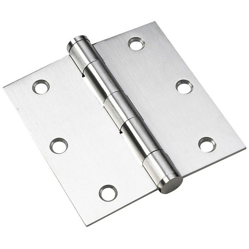 """View a Larger Image of 3-1/2"""" (89 mm) Full Mortise Butt Hinge Stainless Steel"""