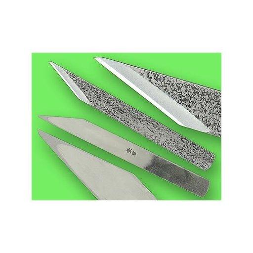 "View a Larger Image of 3/4"" Left Handed Blue Steel Woodworking Knife (Kogatana)"