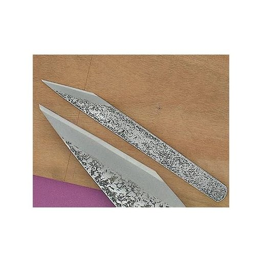 """View a Larger Image of 3/4"""" Right Handed Blue Steel Woodworking Knife (Kogatana)"""