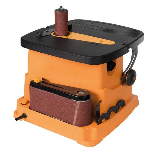 View a Larger Image of 450W Oscillating Spindle & Belt Sander