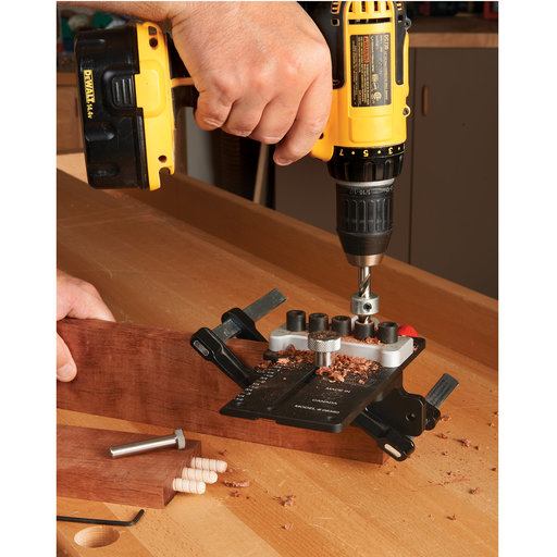 """View a Larger Image of 3/8"""" Doweling Jig Kit"""