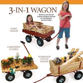 3 - In - 1 Wagon Plan - Downloadable Plan