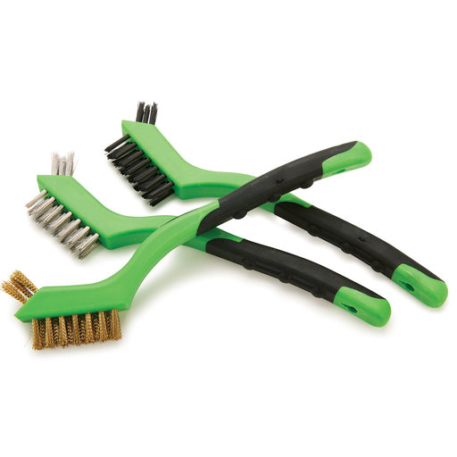 View a Larger Image of 3-Piece Wire Brush Set