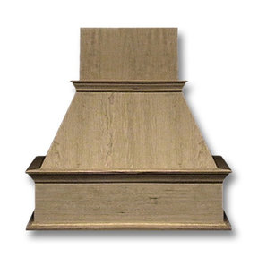 30-in. Wide Decorative Hickory Wood Wall-Mount Range Hood