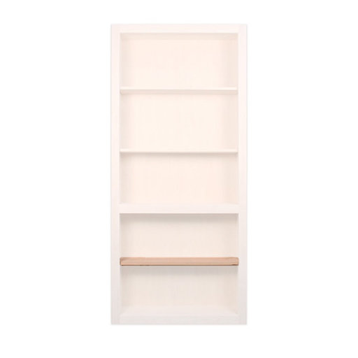 View a Larger Image of 32 in. Cherry Extra Shelf Accessory for 32 in. InvisiDoor Bookcase Door