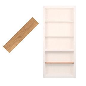 32 in. Red Oak Extra Shelf Accessory for 32 in. InvisiDoor Bookcase Door