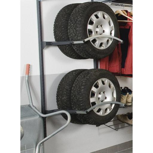 "View a Larger Image of Adjustable Depth Tire Holder Unit 33"" L x 63"" H"