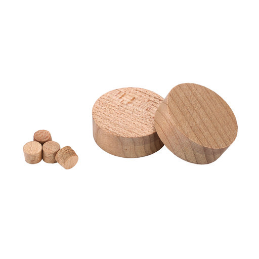 View a Larger Image of 35mm Hinge Hole Repair Kit, Maple