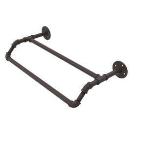 """36"""" Double Towel Bar, Oil Rubbed Bronze Finish"""