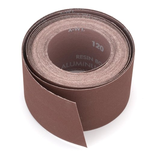 """View a Larger Image of 3"""" x 35' Sanding Roll 80 Grit"""