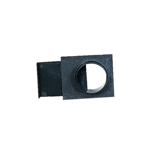 """View a Larger Image of 4"""" Basic Blast Gate Dust Collection Fitting"""