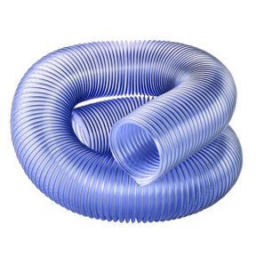"""4"""" Diameter Clear Dust Collection Hose"""