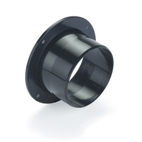"""4"""" Flanged Inlet Dust Collection Fitting"""
