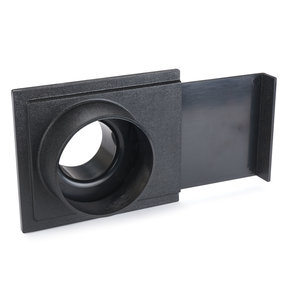 """4"""" x 2-1/2"""" Basic Blast Gate Dust Collection Fitting"""