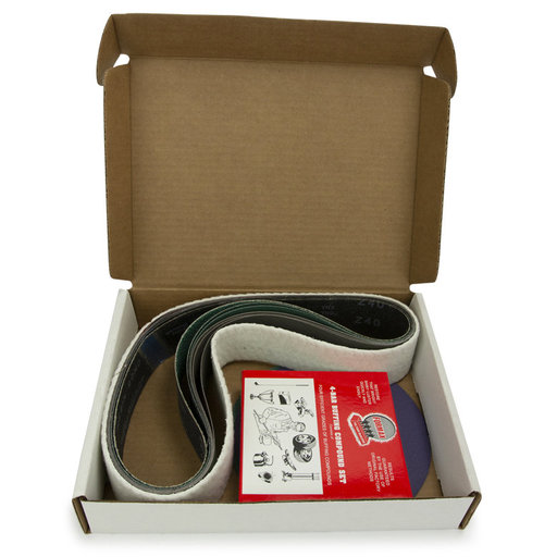 """View a Larger Image of 4"""" x 48"""" Belt, 7"""" Disc, Metal Working Belt and Disc Starter Kit"""