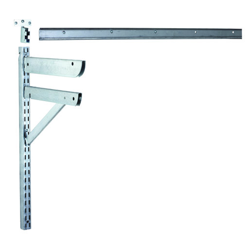 """View a Larger Image of 40"""" Horizontal Hang Track for Shelf Standards"""