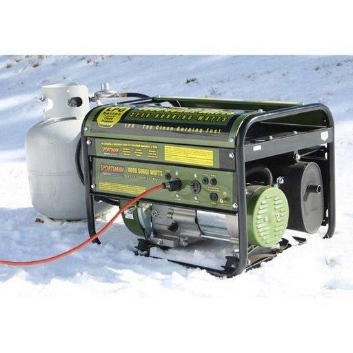 View a Larger Image of 4000 Watt Propane Generator