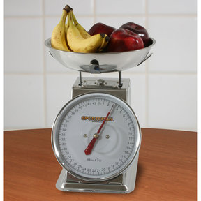 44lb Stainless Dial Scale
