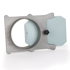 5-inch Aluminum Blast Gate Dust Collection Fitting